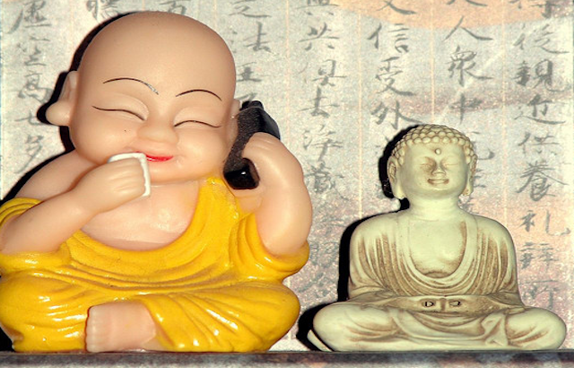 Buddha on the Phone