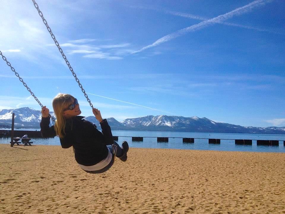 Lori Swinging