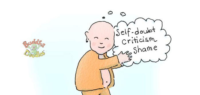 Buddha Doodles: Negative Thoughts