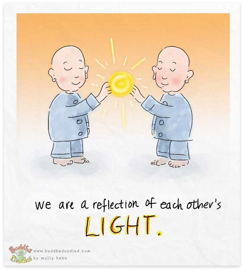 BuddhaDoodle_Reflection_byMollyHahn