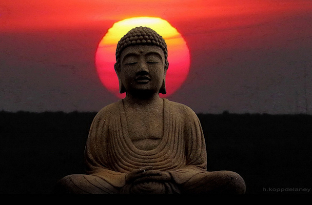 Buddha and Sun