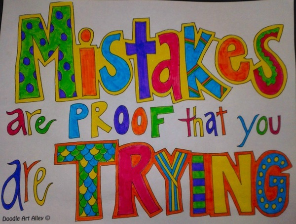Beautiful Mistakes Are Proof