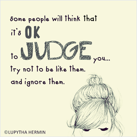 People Who Judge