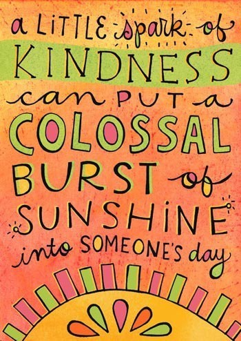 A Little Spark of Kindness