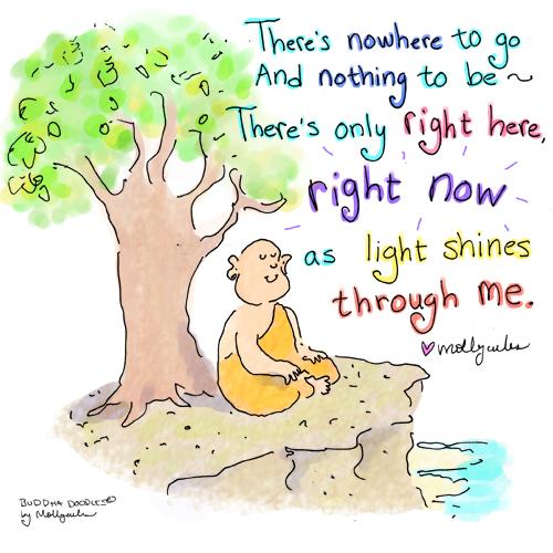 BuddhaDoodles_OnlyRightHere_MollyHahn