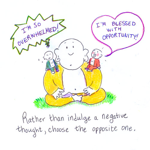 Buddha Doodles: Choose Your Thoughts