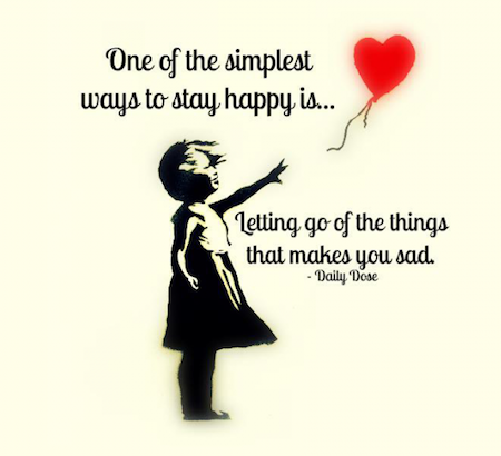 Simplest Way to Be Happy