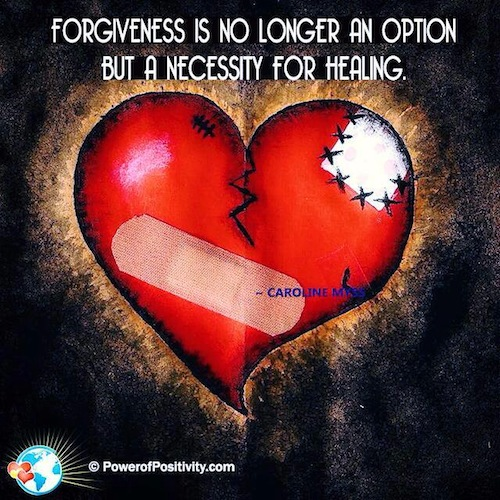 Forgiveness Is a Necessity