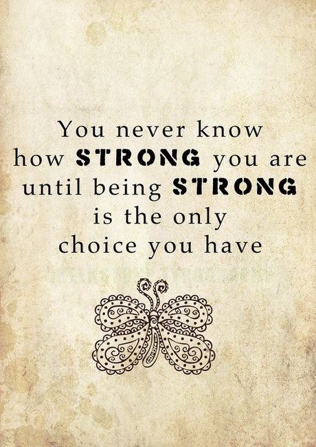 Knowing How Strong You Are