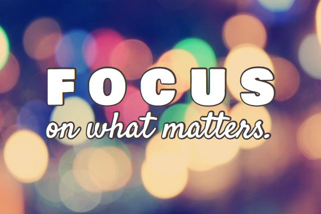 5 Questions That Will Help You Focus On What Matters