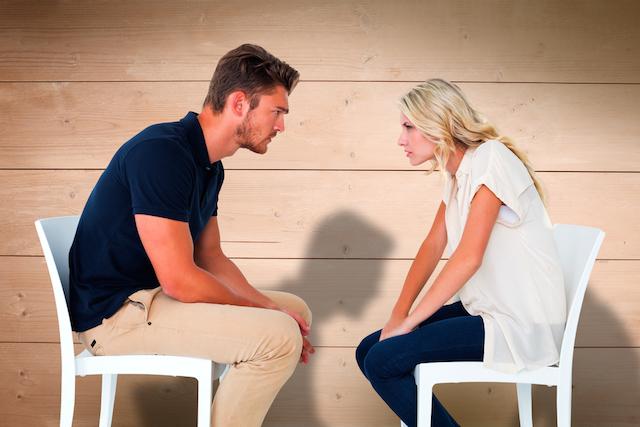 Couple Arguing Image via Shutterstock