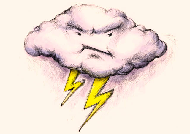 Angry Thundercloud
