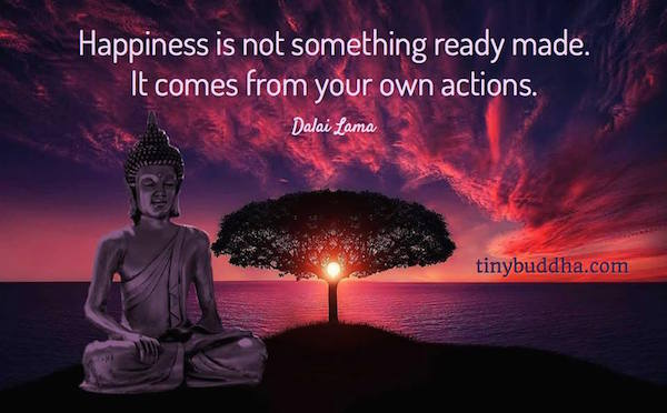 Happiness Isnt Ready Made