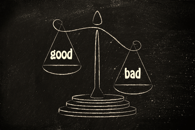 Good and Bad Scale