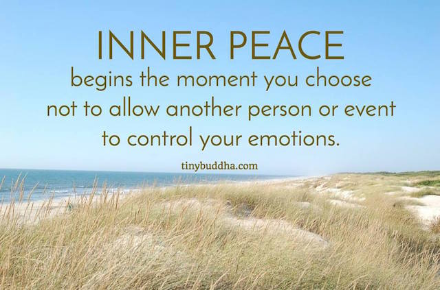 Quotes About Challenges In Relationships Inner Peace Begins the...