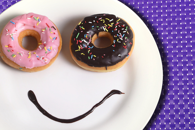 Donut Smiley Face