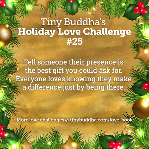 Holiday Love Challenge #25