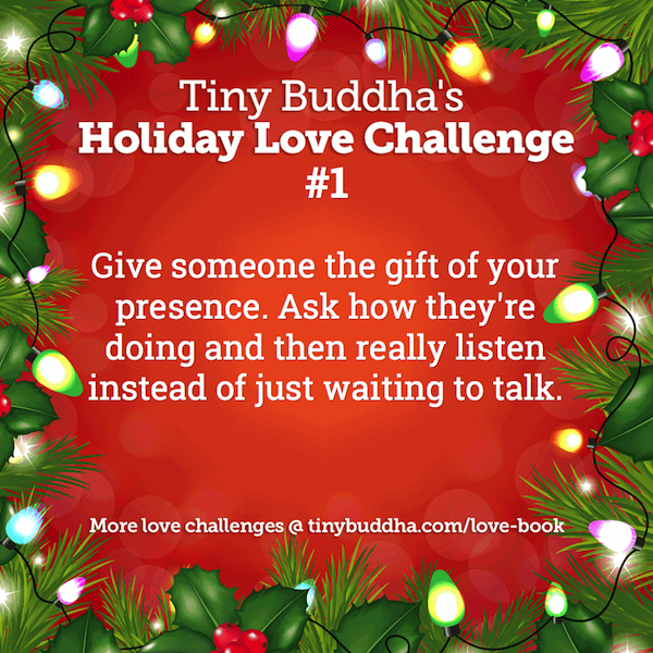 Holiday Love Challenge #1