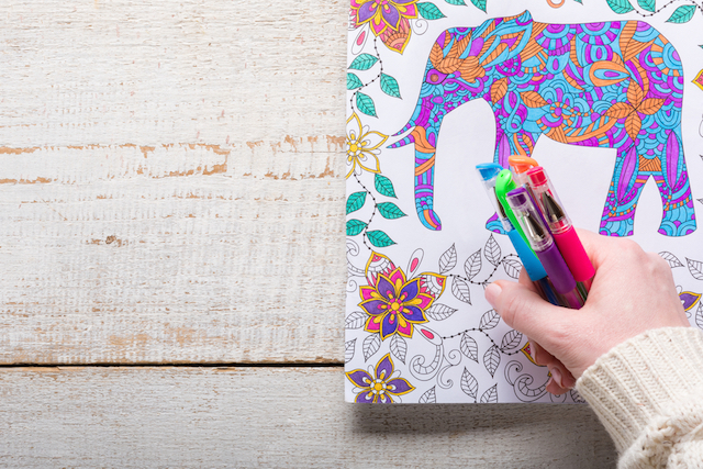 The Zen of Coloring: 7 Lessons on Living a Happy, Mindful Life