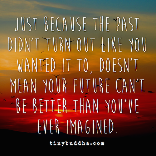 Your past and your future