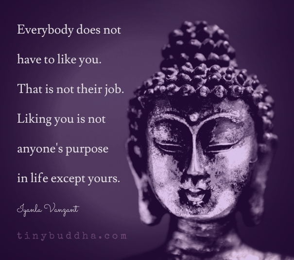Zen Live Wallpaper: Everybody Does Not Have To Like You