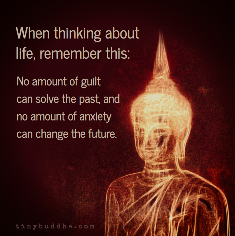 When Thinking About Life Remember This Tiny Buddha