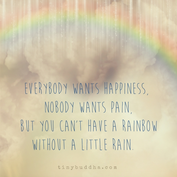 Love U Cant Have: You Can't Have A Rainbow Without A Little Rain
