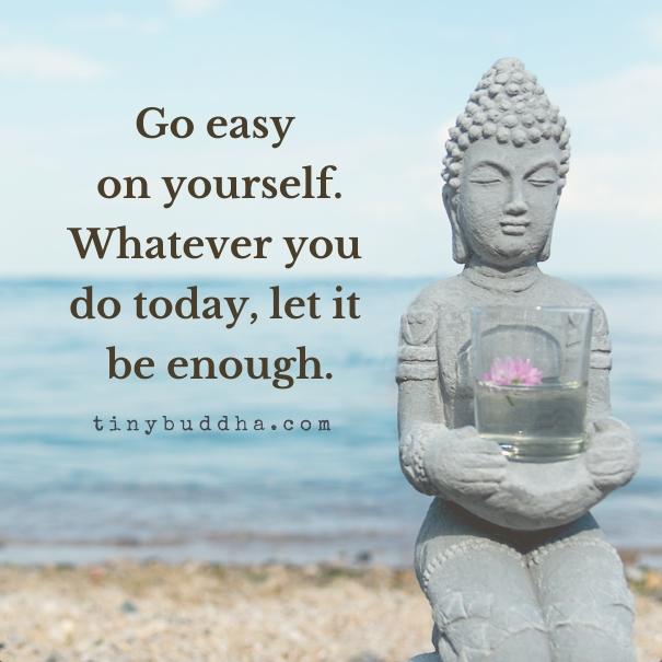 Let it be enough