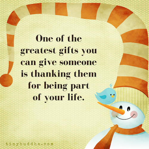 One of the greatest gifts