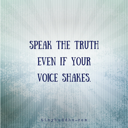 Download Slam Quotes About Truth: Speak The Truth, Even If Your Voice Shakes