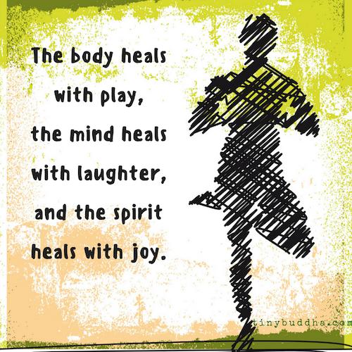 The body heals
