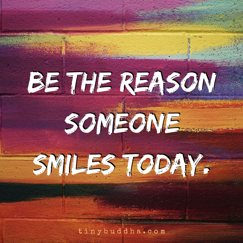 The Daily Smile Mission: Be The Reason Someone Smiles Today