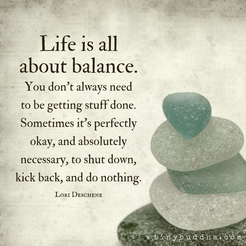 Siddhartha balance of life