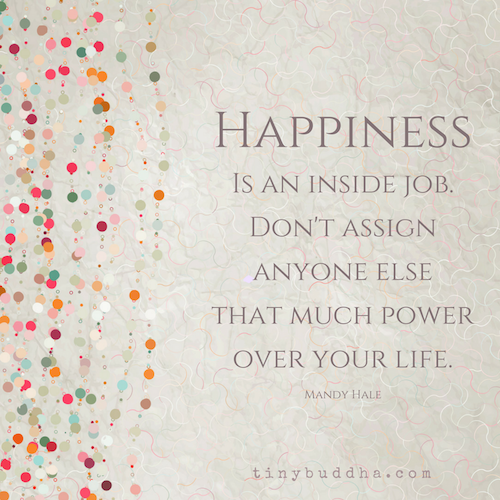 Superb Happiness Is An Inside Job
