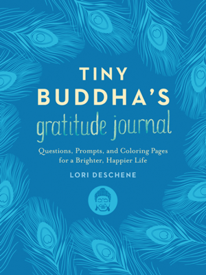 Tiny Buddha's Gratitude Journal Cover