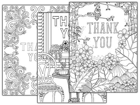 a Tiny Buddha Printable Thank-You Card