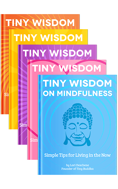 Tiny Wisdom books