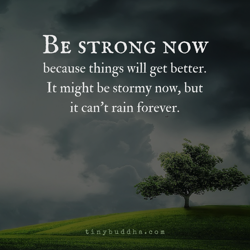 Download Lagu Better Now Post: It Can't Rain Forever