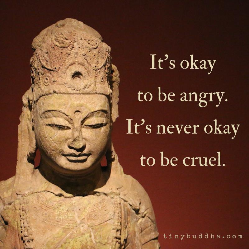 It 39 s Okay to Be Angry Tiny Buddha