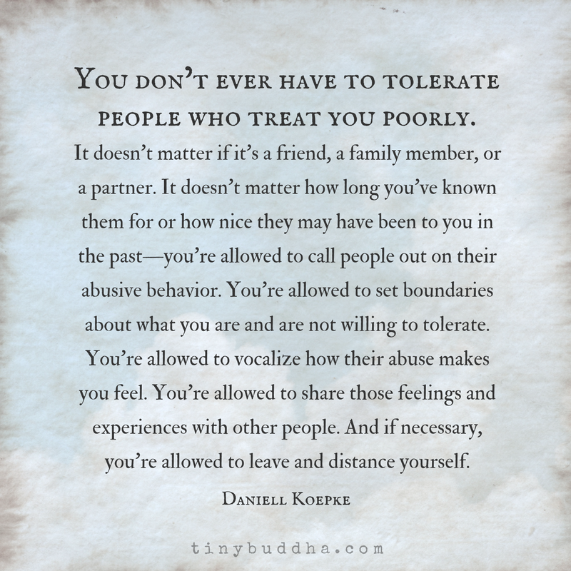 Badly treating people 15 Quotes