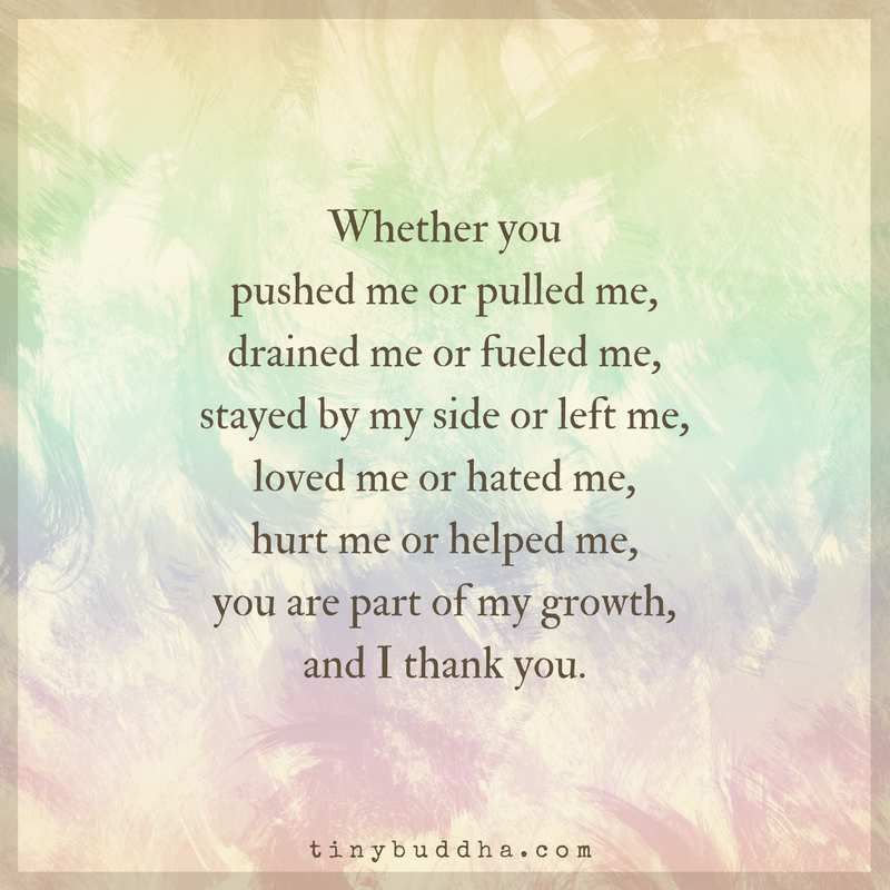You Are Part Of My Growth, And I Thank You