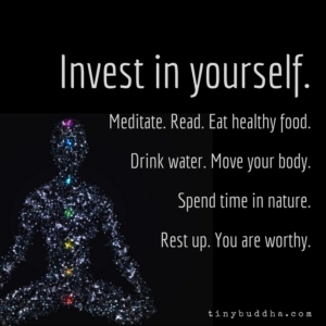 Invest in Yourself, You Are Worthy