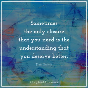 The Only Closure You Need