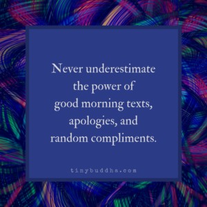 Never Underestimate the Power Of...