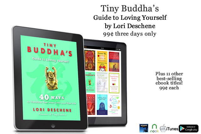Tiny buddhas guide to loving yourself on sale for 99 cents tiny im pleased to announce that the ebook version of tiny buddhas guide to loving yourself has been selected for the great autumn ebook sale fandeluxe Image collections