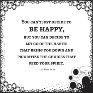 You Can't Just Decide to Be Happy