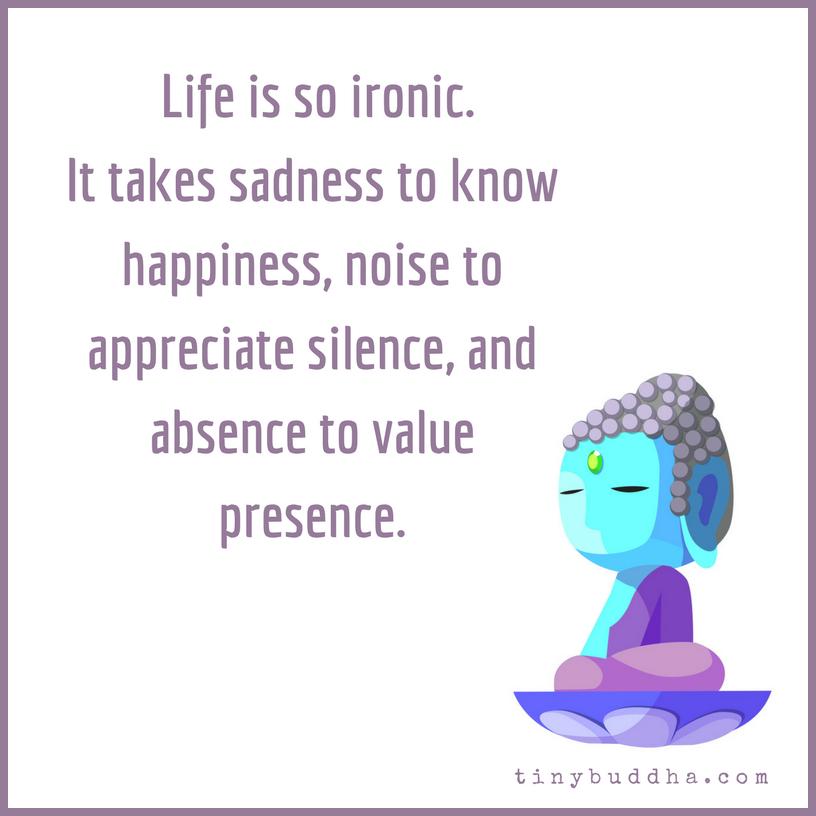 Life Ius: Life Is So Ironic...