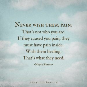 Never Wish Them Pain