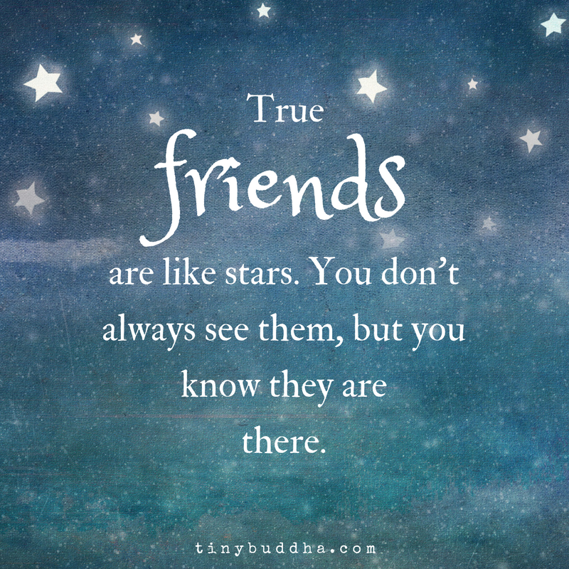 Quotes About Love: True Friends Are Like Stars