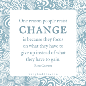 One Reason People Resist Change